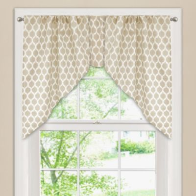 Curtains Ideas brown valance curtains : Buy Brown Valances for Windows from Bed Bath & Beyond