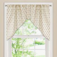 Morocco Window Curtain Swag Valance