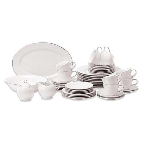 Royal Doulton® Simply Platinum 45-Piece Dinnerware Set  sc 1 st  Bed Bath \u0026 Beyond & Royal Doulton® Simply Platinum 45-Piece Dinnerware Set - Bed Bath ...