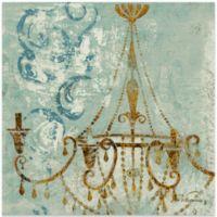 Fabrice de Villenueve Elegance of a Chandelier Wall Art