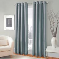 Majestic 84-Inch Blackout Lined Grommet Window Curtain Panel in Mineral