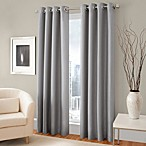 Majestic 95-Inch Blackout Lined Grommet Window Curtain Panel in Steel