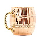 Old Dutch International 16 oz. Moscow Mule Barrel Mug in Solid Copper