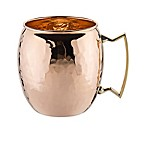 Old Dutch International 16 oz. Moscow Mule Mug with Hammered Finish in Solid Copper