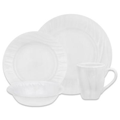 Corelle® Boutique Swept 16-Piece Dinnerware Set  sc 1 st  Bed Bath \u0026 Beyond & Buy Corelle Dinnerware from Bed Bath \u0026 Beyond
