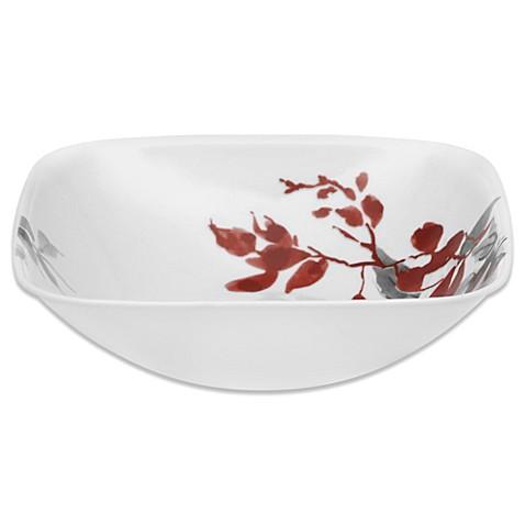 Corelle 174 Boutique Kyoto Leaves 1 5 Quart Serving Bowl