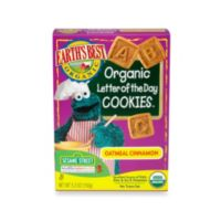 Earth's Best® Organic 5.3 oz. Sesame Street Letter of the Day Oatmeal Cinnamon Cookies