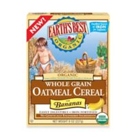 Earth's Best® Organic 8 oz. Whole Grain Oatmeal Cereal with Bananas