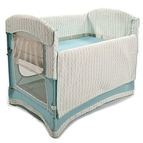 Arm S Reach Ideal Co Sleeper 174 In French Blue Buybuy Baby