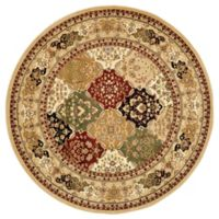 Safavieh Lyndhurst Diamond Patchwork 5-Foot 3-Inch Round Rug