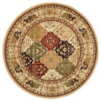 Safavieh Lyndhurst Diamond Patchwork 5-Foot 3-Inch Round Rug