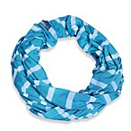Itzy Ritzy® Nursing Happens™ Infinity Breastfeeding Scarf in Turquoise/White