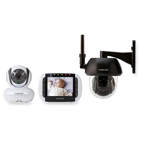 motorola focus360 remote wireless indoor outdoor video monitor w 3 5 inch di. Black Bedroom Furniture Sets. Home Design Ideas