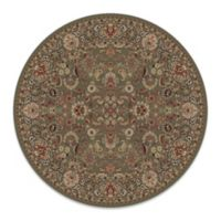 Concord Global Mahal Green 5-Foot 3-Inch Round Rug