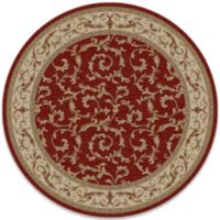 Concord Global Trading Veronica 63-Inch Round Rug in Red