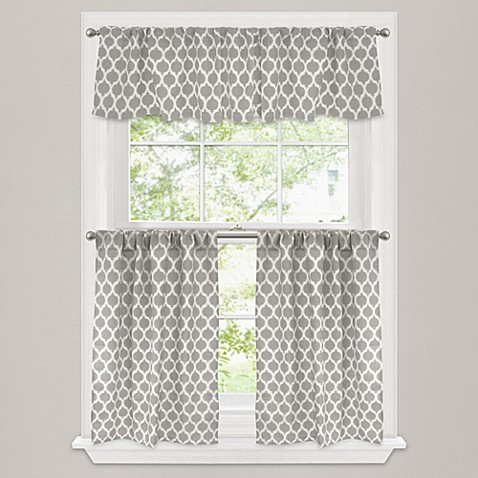 Https Www Bedbathandbeyond Com Store Product Morocco Window Curtain Tier Pair In Stone 213933