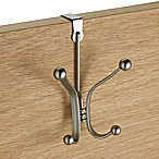 InterDesign® York Over-the-Door Quad Hook