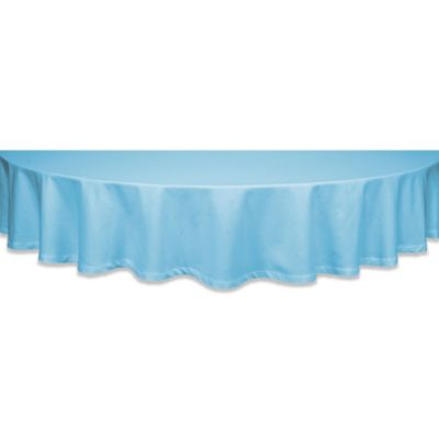 buy round cotton tablecloths from bed bath & beyond