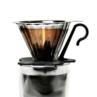 Buy Melitta Pour Over 10-Cup Coffee Maker with Glass Carafe from Bed Bath & Beyond