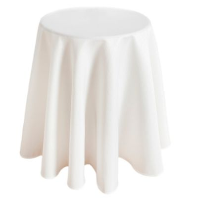 Buy round accent table tablecloth from bed bath beyond for Buy round table
