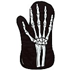 Glow in the Dark Skeleton Hand Oven Mitt