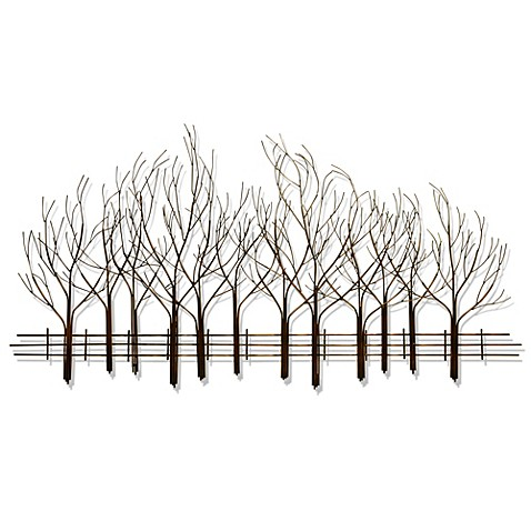 b.j. keith metal forest wall art - bed bath & beyond