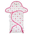 Just Born® Deluxe Swaddle® in Pink Owl Print