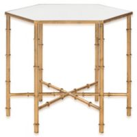 Safavieh Kerri Accent Table in Gold/Mirror