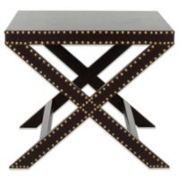 Safavieh Jeanine X End Table in Charcoal