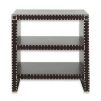 Safavieh Lacey Side Table in Charcoal