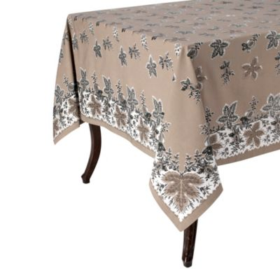 Botanique 70 Inch X 108 Inch Tablecloth In Yellow