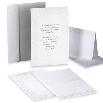 Wilton® Flirty Fleur Design-Your-Own Invitation Kit