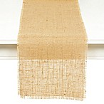 Couleur Nature Natural Burlap 16-Inch x 90-Inch Table Runner