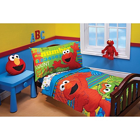 Sesame Street Bedding Set