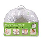 Inspired Mother® Feeding and Support Pillow in White