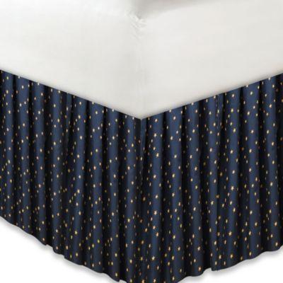 donna sharp midnight bear twin bed skirt