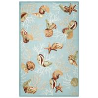 KAS Sonesta Coral Reef 5-Foot x 7-Foot 6-Inch Indoor Rug in Blue