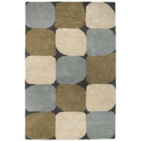 Rizzy Home Colours 8-Foot x 10-Foot Rug in Slate Blue