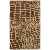 Rizzy Home Volare 5-Foot x 8-Foot Rug in Brown