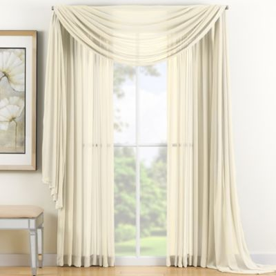 Buy Window Scarf Valances from Bed Bath & Beyond