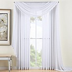 Reverie Sheer Window Scarf Valance in White