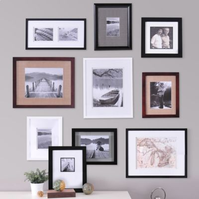 real simple 10 piece portrait frame set