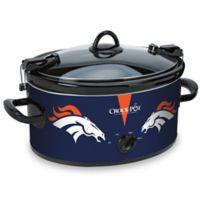 NFL Denver Broncos Crock-Pot® Cook & Carry™ 6-Quart Slow Cooker