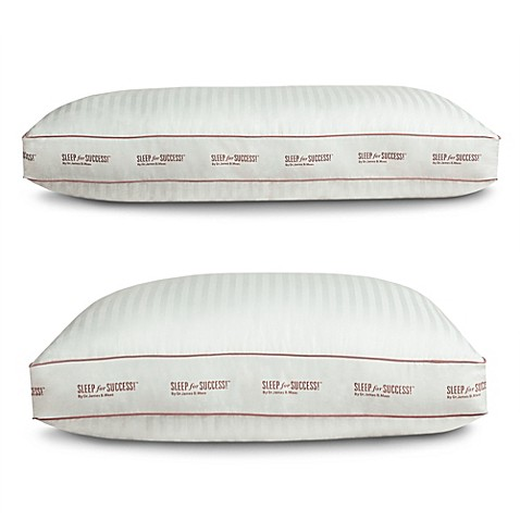 Sleep for successtm by dr maastm side sleeper pillow bed for Best pillow for side sleepers bed bath and beyond