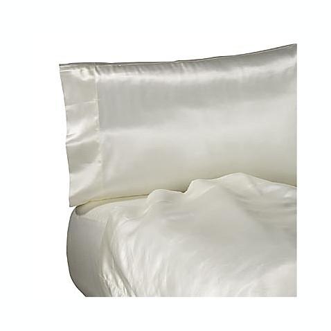 buy satin extra deep california king sheet set from bed bath beyond. Black Bedroom Furniture Sets. Home Design Ideas