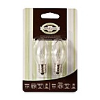 Plug-In Wax Warmer 15-Watt 2-Pack Replacement Bulbs