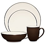 Noritake® Colorwave Coupe 4-Piece Place Setting in Chocolate