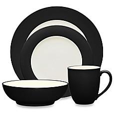 Noritakeu0026reg; Colorwave Rim Dinnerware Collection in Graphite  sc 1 st  Bed Bath u0026 Beyond & Noritake® Colorwave Rim Dinnerware Collection in Graphite - Bed Bath ...