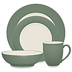 Noritake® Colorwave Rim 4-Piece Place Setting in Green