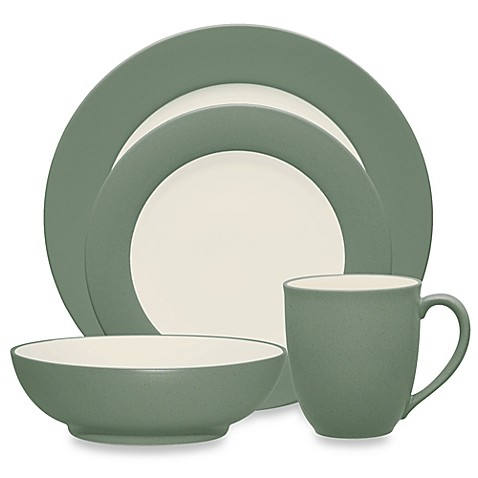 image of Noritake® Colorwave Rim Dinnerware Collection in Green